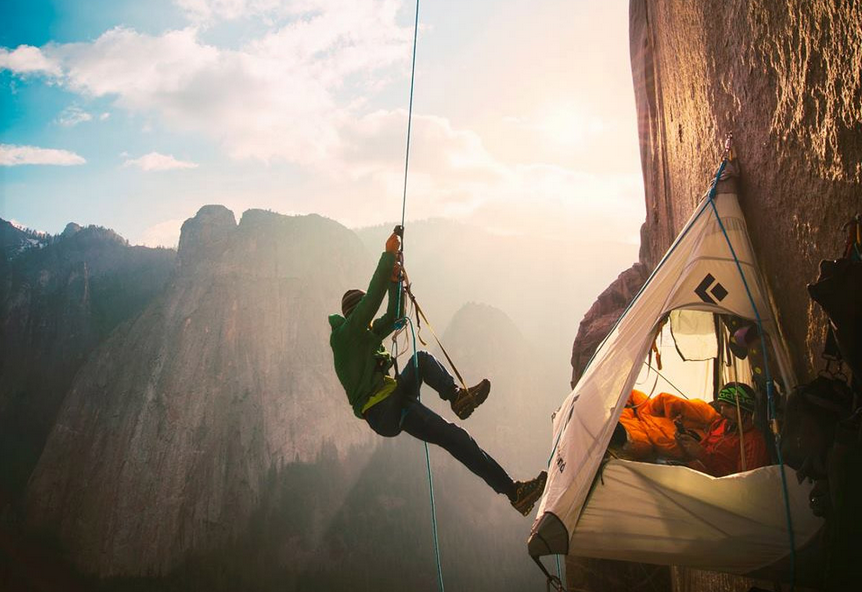 Camping At El Capitan's Dawn Wall, Yosemite National Park Photography By: Corey Rich